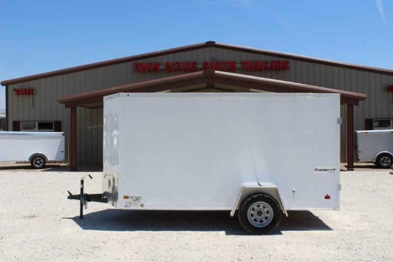 2018 Haulmark 6x12 Enclosed Trailer