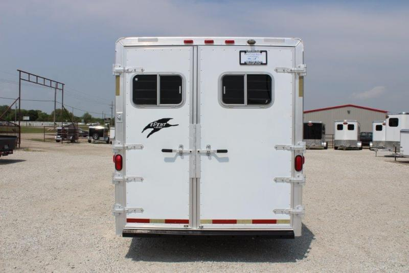 2000 Exiss 3 horse slant gooseneck