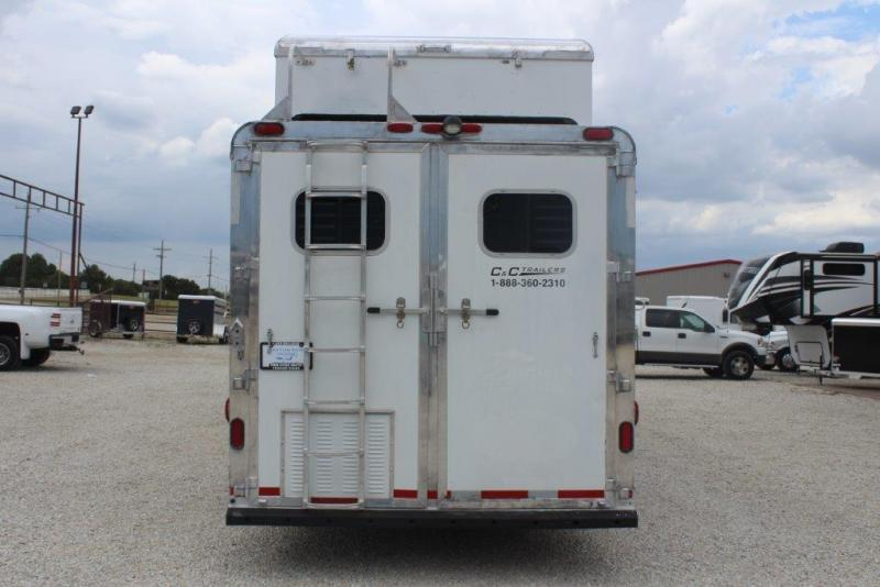 2005 C and C Trailers 15 Living Quarter Horse Trailer