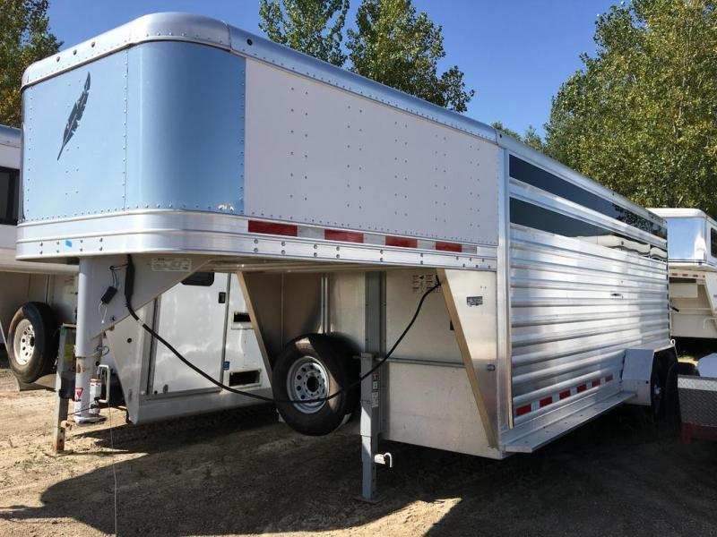 2016 Featherlite 20' stock trailer