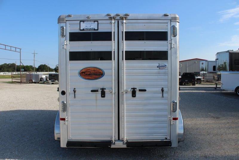 2015 Sundowner 3 horse slant bumper pull