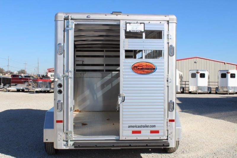2018 Sundowner 16' Stock Trailer