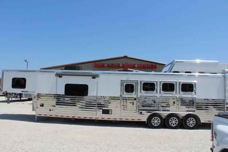 2019 Sundowner 4 horse with 14' LQ with slide out and large rear tack