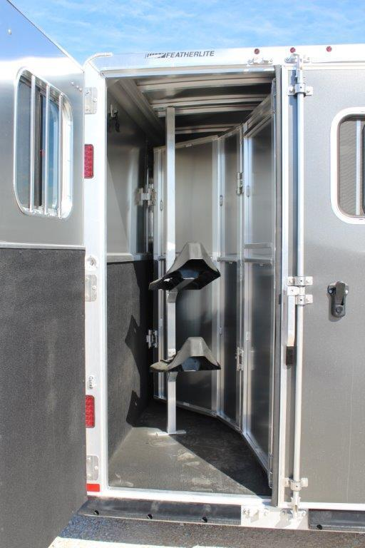 2019 Featerlite 2 horse slant bumper pull