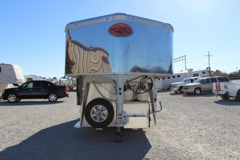 2018 Sundowner 2 horse with 6' Living Quarter