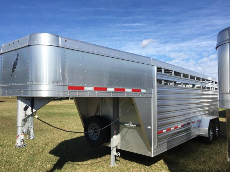 2019 Featherlite 20' Stock Trailer