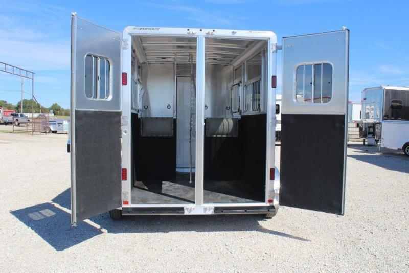 2018 Featherlite 2 horse bumper pull
