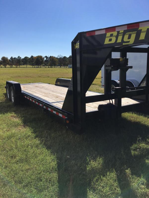 2016 Big Tex 24' Flatbed Trailer