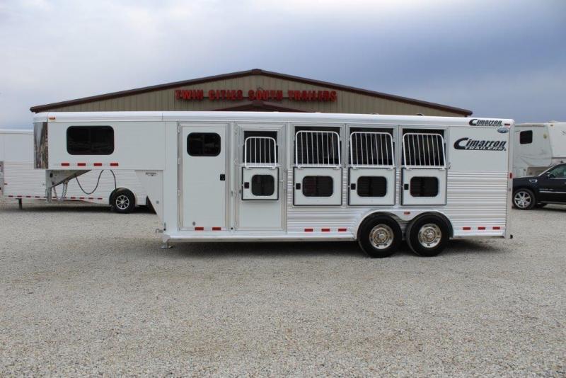 Cimarron 4 horse slant gooseneck