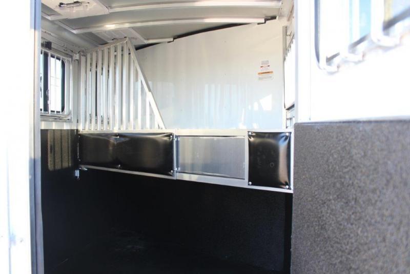 2019 Sundowner 2 horse slant bumper pull