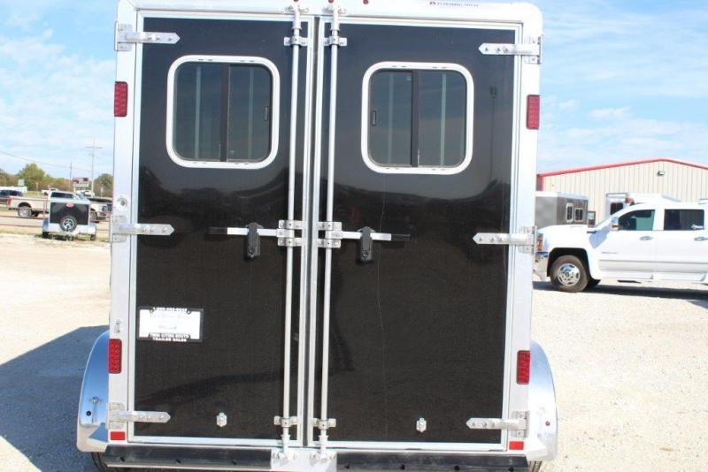 2019 Featherlite 2 horse slant bumper pull