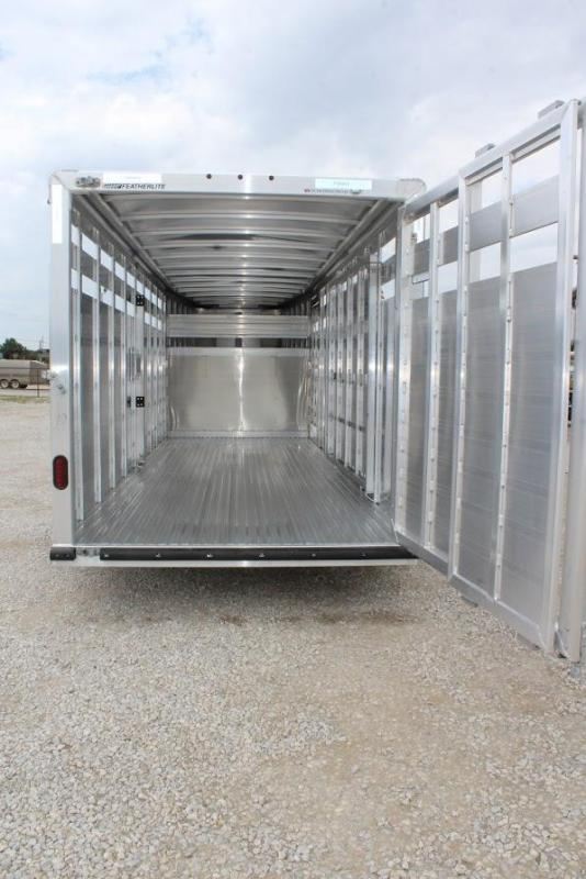 2020 Featherlite 20'  stock trailer