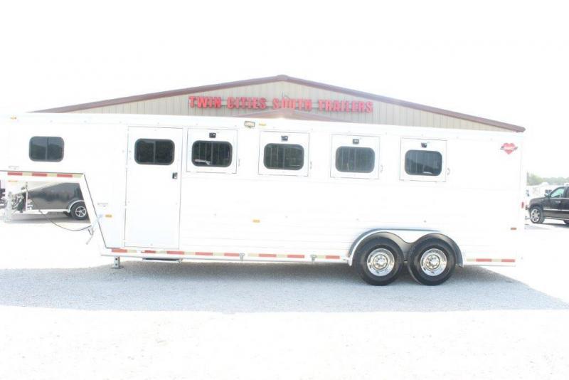 2002 Hart 4 horse slant gooseneck