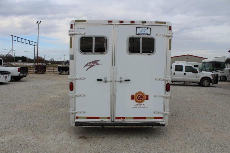 2000 Exiss 6 horse slant gooseneck