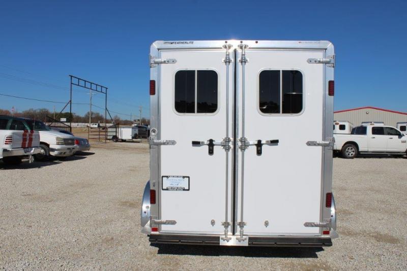 2018 Featherlite 2 horse slant bumper pull