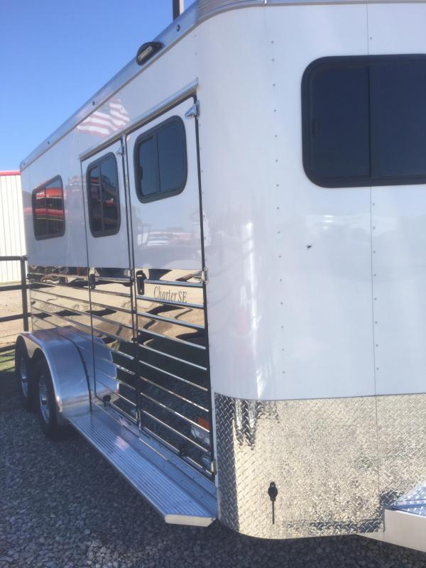 2019 Sundowner 2 horse bumper pull