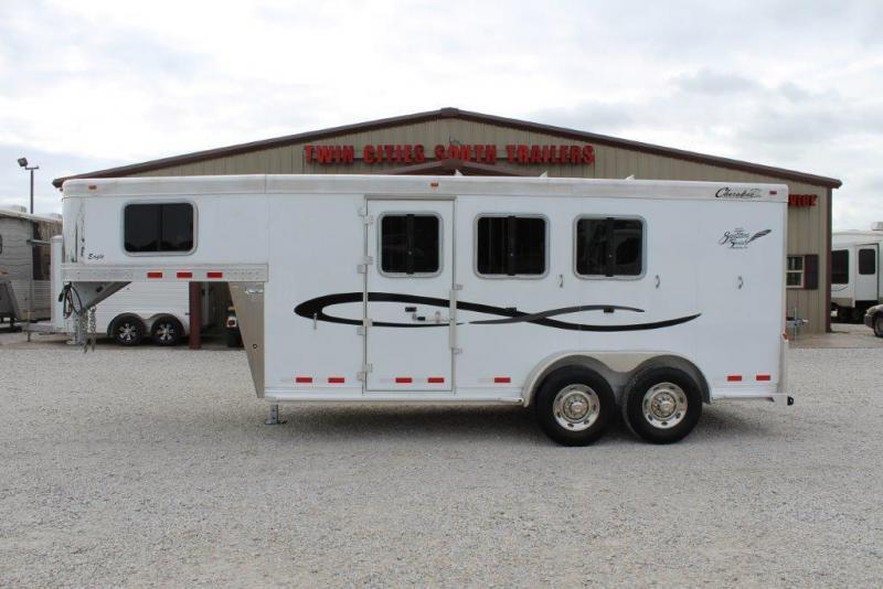 2016 Cherokee 3 horse slant gooseneck