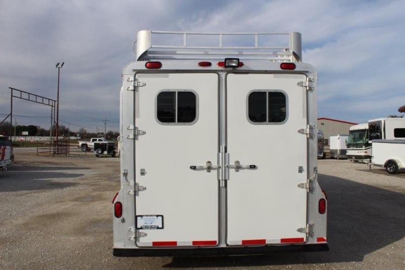 2001 4-Star 4 horse slant gooseneck