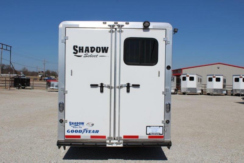 2015 Shadow Trailers Living Quarter Horse Trailer