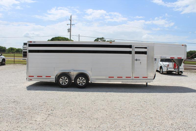 2013 EBY 22' Stock Trailer