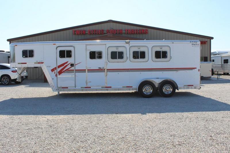 2000 Exiss 4 horse slant gooseneck