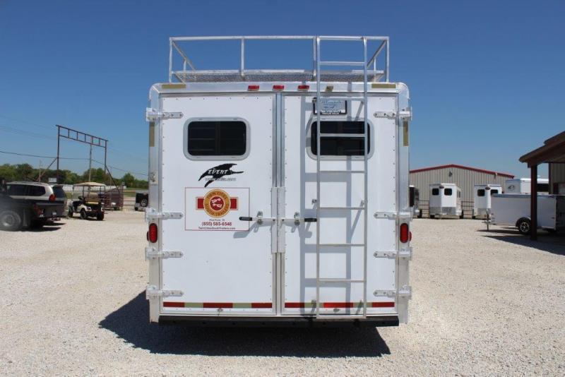 2003 Exiss 3 horse with 14' Living Quarter