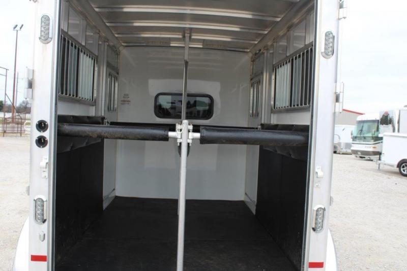 2015 Sundowner 2 horse bumper pull
