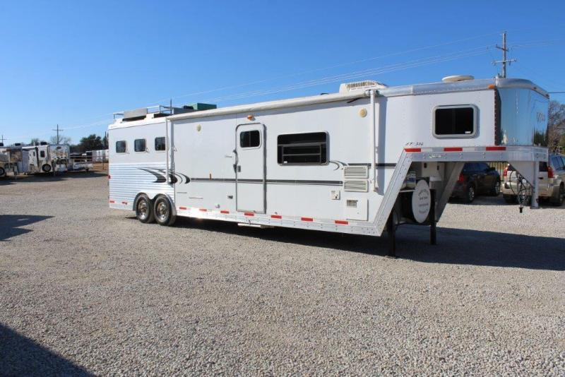 "2007 Exiss 3 horse with 14"" LQ with Slide Out"