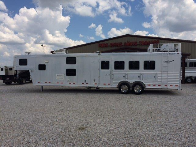 2007 Cherokee 4 horse with 16' Living Quarter