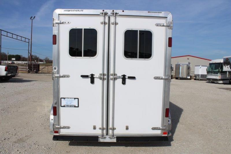 2015 Featherlite 2 horse slant bumper pull