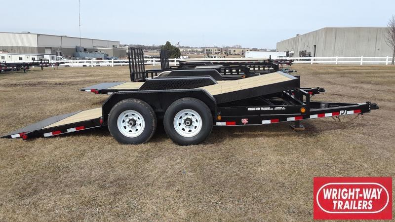2020 PJ 16' Equipment Tilt Trailer