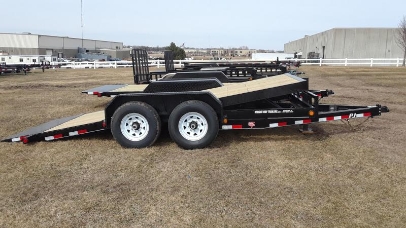 2020 PJ 16' Equipment Tilt Trailer in Ashburn, VA