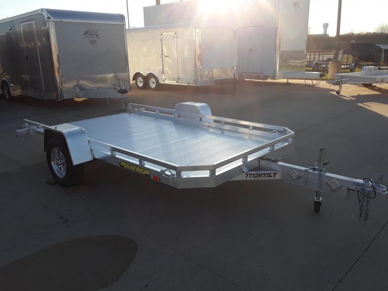 2019 Aluma 6 X 12' TILT Aluminum Utility Trailer