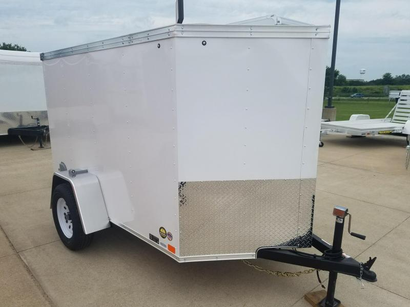 2019 United Trailers 5X8 V-Nose Enclosed Cargo Trailer
