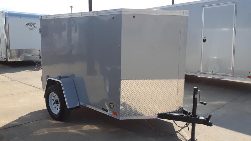 United 5X8 Enclosed Cargo Trailer