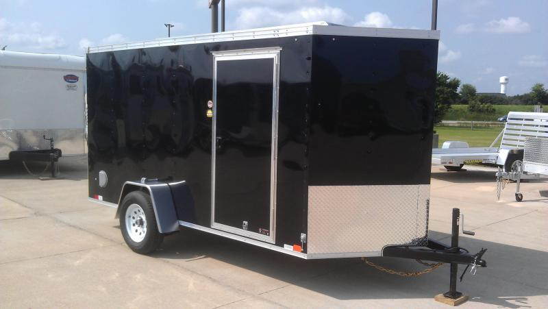 2019 United Trailers 6X12 V-Nose Enclosed Cargo Trailer