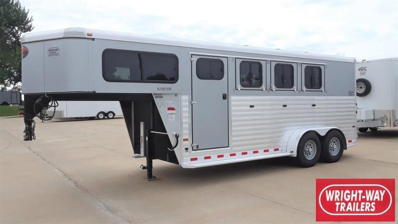 Sundowner 3 Horse Slant Gooseneck RANCHER SPORT Horse Trailer