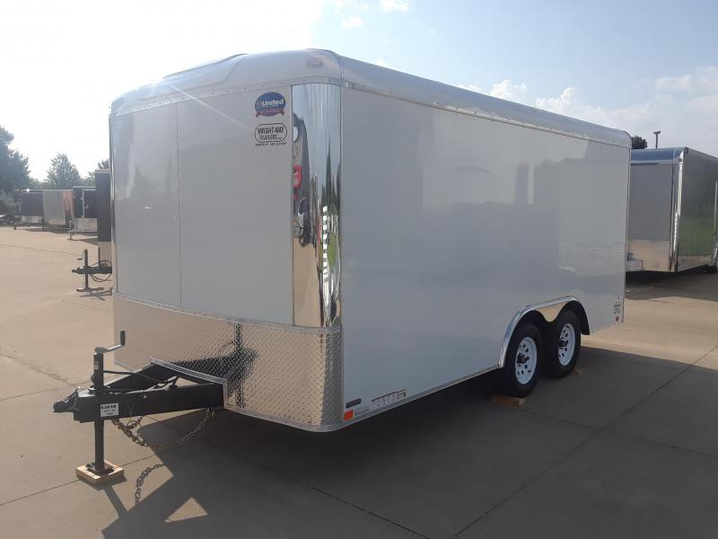 2019 United Trailers ULT8.516TA35-S Enclosed Cargo Trailer