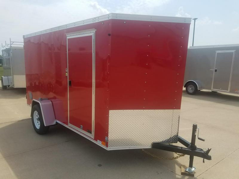 2019 United Trailers XLV 6X12 Enclosed Cargo Trailer