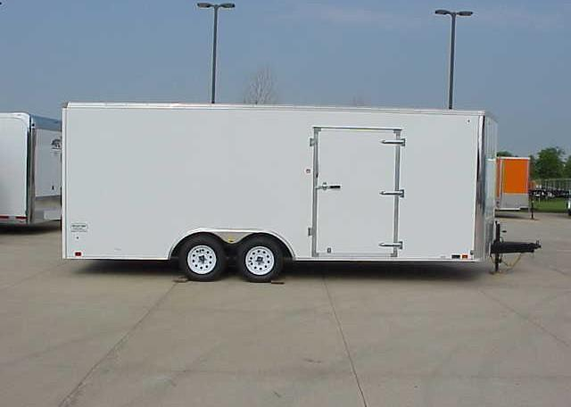United XLTV 8.5 x 23 V-Nose Enclosed Race Trailer