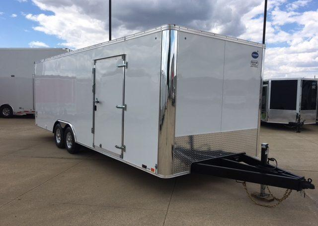 United XLT 8.5 x 24 Enclosed Race Trailer