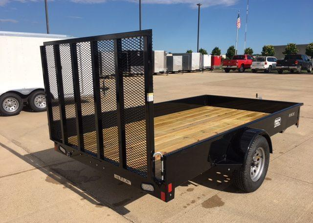 Rice Stealth 76 x 12 Single Axle Utility Trailer