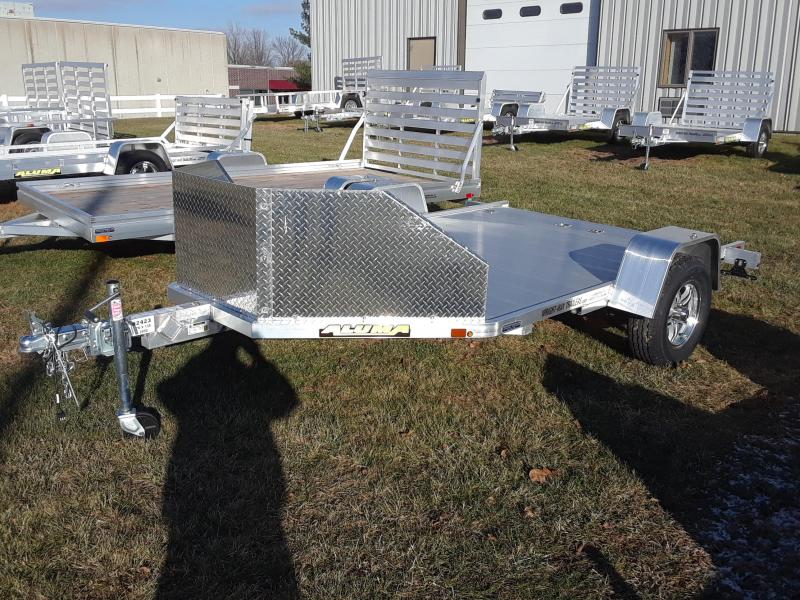 2019 Aluma MC210 Aluminum Motorcycle Trailer in IA