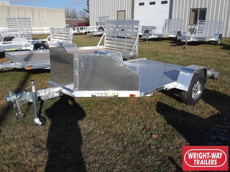 2019 Aluma MC210 Aluminum Motorcycle Trailer
