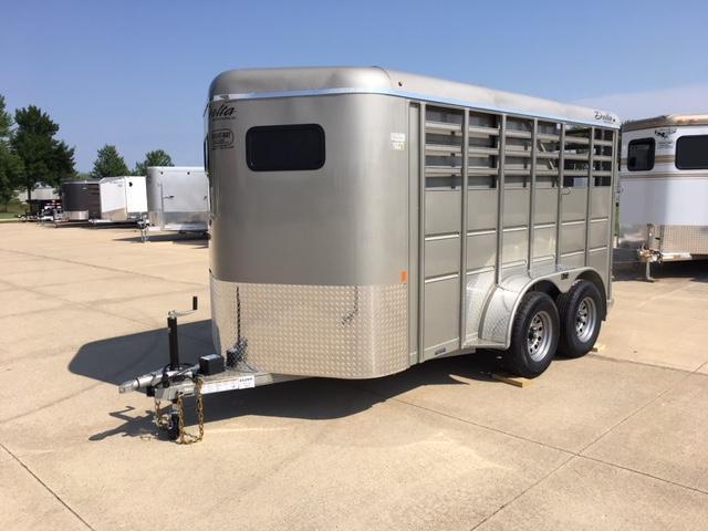 2019 Delta 6x14 Combo 2 Horse Slant Load Trailer in Ashburn, VA