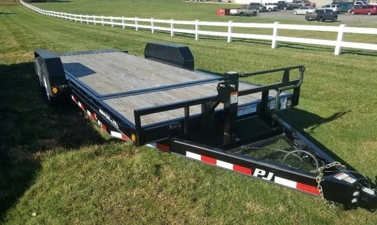 PJ T6 Heavy Duty Tilt Bed Trailers