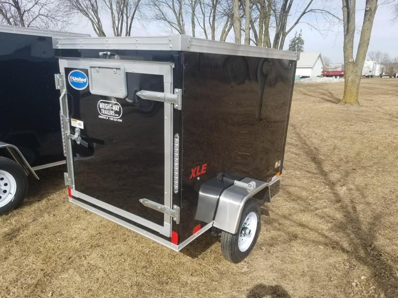 2018 United Trailers XLE 4x6 Enclosed Cargo Trailer
