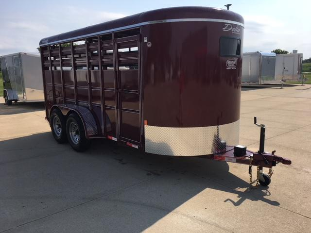 2019 Delta  6X16 500 Series Stock Livestock Trailer