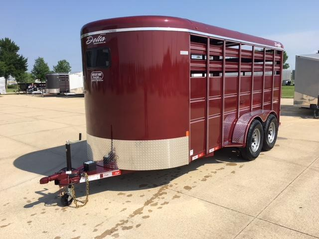 2019 Delta  6 X 16 500 Series Stock Trailer