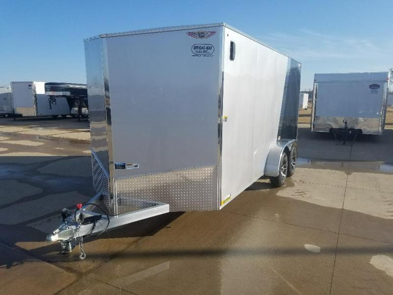 2017 H and H Trailer ALseries Enclosed Cargo Trailer
